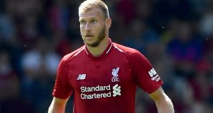 Ragnar Klavan, signed from Cagliari £2 million. Photograph: Anthony Devlin/PA Wire