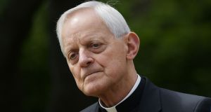 Cardinal Wuerl, who was bishop of Pittsburgh, Pennsylvania, from 1988 to 2006, was heavilly criticised in the grand jury report report. Photograph: AFP