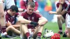 Jonathan Glynn after Galway's All-Ireland final defeat to Limerick. Photograph: Bryan Keane/Inpho