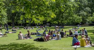 St Stephen's Green, Dublin. Summer in Ireland can be magical – and this year, it was just that. Photograph: Brenda Fitzsimons