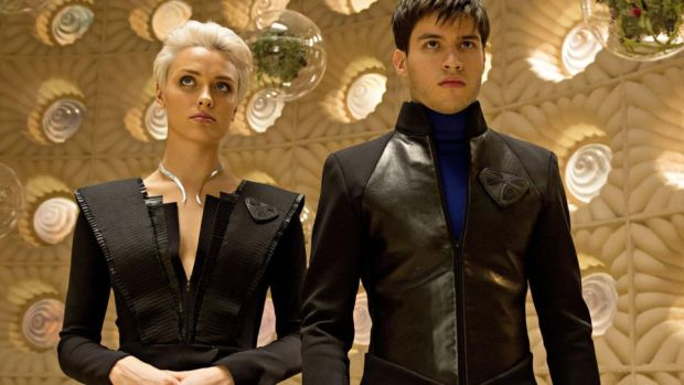 "Wallis Day as Nyssa-Vex and Cameron Cuffe as Seg-El: Rolling Stone suggests Krypton is ""a clever shot at finding new stories inside one of the most beloved superhero sagas in any universe""."
