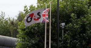 "British contractor G4S fell more than 1 per cent after the British government took over the running of a prison after an inspection found it had fallen into a ""state of crisis""."