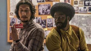 Adam Driver and John David Washington create a pairing – the former laconic; the later bemused – that cries out for further exploitation