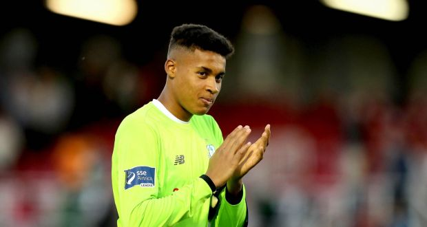 shamrock rovers goalkeeper gavin bazunu to join man city