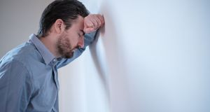 Men are more likely to do their grieving silently. Photograph: iStock
