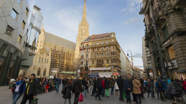 'Sometimes, Vienna feels like a sort of futuristic utopia of urban life.' Photograph: iStock
