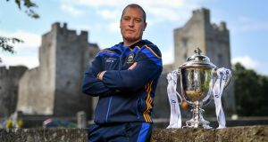 Liam Cahill: Tipperary U-21 manager is looking forward to the  final against Munster champions Cork. Photograph:  Ramsey Cardy/Sportsfile
