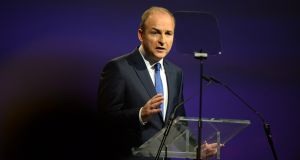 Following decades of rumours and tentative discussions, it now appears that a co-operative arrangement involving Fianna Fáil, led by Micheál Martin, and the SDLP will be announced later this year.  Photograph: Dara Mac Dónaill
