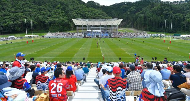 Rugby World Cup Stadium Opens As Symbol Of Hope In Tsunami Hit Kamaishi