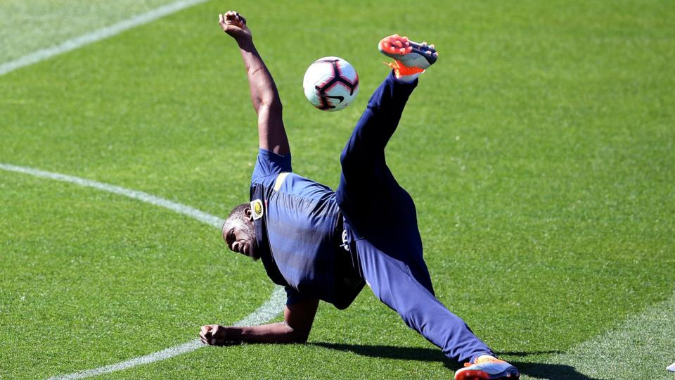 8b2b2769d91 Usain Bolt s switch to soccer begins with training session in Australia
