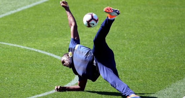 usain bolt s switch to soccer begins with training session in australia