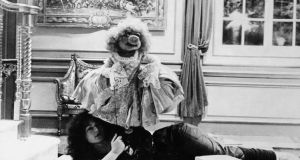 Louise Gold, one of the puppeteers and voices of the Muppets