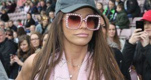 The show feels as exhausted and unhappy as Katie Price looks. Photograph: Pete Norton/Getty Images