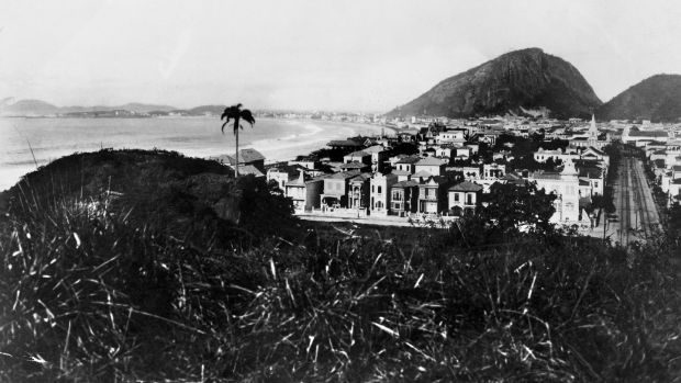 The Copacabana beach in Brazil in the earlier 20th century. Photograph: Keystone-France/Gamma-Keystone via Getty Images