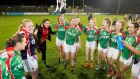 Carnacon players celebrating their All-Ireland Ladies Senior Club Football Championship victory in December 2017. Photograph: Oisín Keniry/Inpho