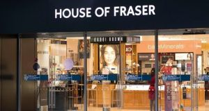 House of Fraser, Dundrum, Dublin. The UK retail chain  filed for administration on August 10th.