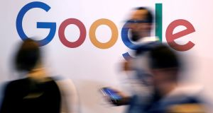 A report indicated that Google continues to collect revealing location-based data through users' Android phones and via Google Maps on the iPhone. Photograph: Charles Platiau/Reuters