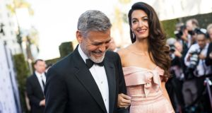 Highest-paid actor: George Clooney earned $239 million in 2017-18. Photograph: Emma McIntyre/Getty for Turner