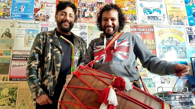 When Indian met club: Bobby Friction and Gurcharan Mall in Pump Up the Bhangra