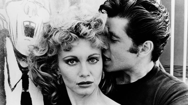 We go together: Olivia Newton-John and John Travolta in Grease. Photograph: RB/Redferns