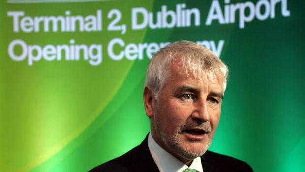 Former DAA chief executive Declan Collier. Photograph: Matt Kavanagh