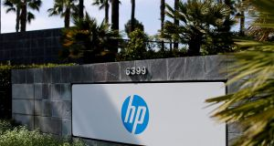 HP Inc's personal systems business, which includes desktops and notebooks, rose 12 per cent to $9.4 billion. Photograph: Reuters