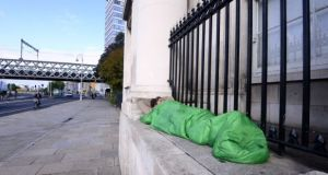 No homeless family will have to move outside Dublin during the Pope's visit, the chief executive of Dublin City Council has said. File photograph: Cyril Byrne