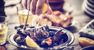 Easy squeezy: the best seafood needs only some herbs and lemon. Photograph: iStock/Getty