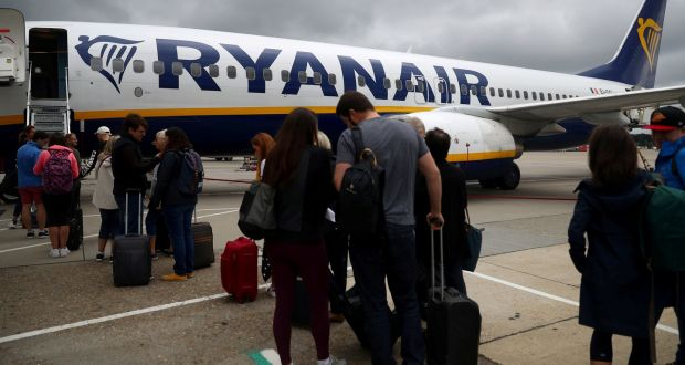 Ryanair has changed its baggage policy - again. Photograph  Hannah  McKay Reuters 253a5a2c90789