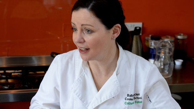 Chef Catherine Fulvio will lead the people of Wexford through a healthy cooking demonstration on Wednesday, October 24th, at the River Bank Hotel. Photograph: Cyril Byrne / THE IRISH TIMES