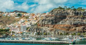 The town of San Sebastián in La Gomera. Photograph: Getty Images