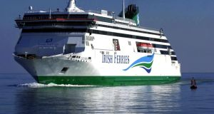 Irish Ferries' Ulysses ferry was out of service for more than four weeks due to technical issues.