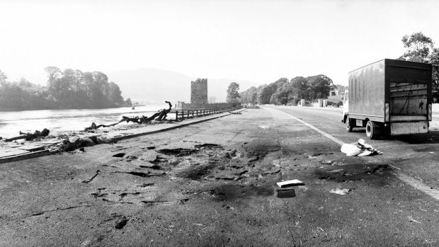 The IRA attack near Warrenpoint on August 27th, 1979 killed 18 British soldiers. Photograph: Sunday Mirror/ Mirrorpix/ Mirrorpix via Getty Images
