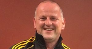 Sean Cox was seriously injured in April.  Photograph: Facebook