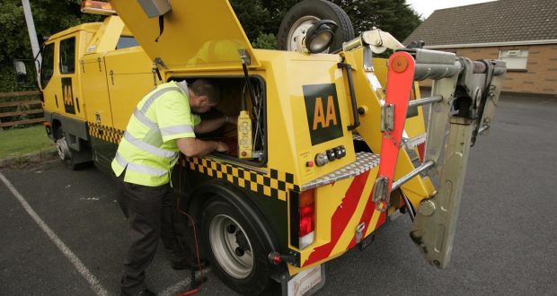 AA Ireland's operating profit increased by 15 per cent to €15.1 million at the end