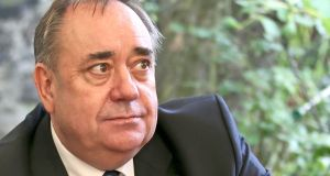 "Former first minister of Scotland Alex Salmond: ""I certainly have not been engaged in criminality"". Photograph: Jane Barlow/PA Wire"
