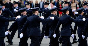 Some 88 per cent of those polled said they had a mid to high level of trust in the force. Photograph: Cyril Byrne