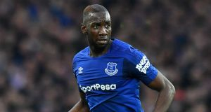 Everton winger Yannick Bolasie has joined Aston Villa on a season-long loan deal. Photograph: PA