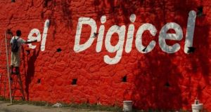 Fitch has lowered its rating on Digicel. Photograph: Ken Cedeno/Digital/Corbis via Getty Images