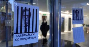 Cambridge Analytica's former offices. Photograph: Daniel Leal-Olivas/AFP/Getty Images