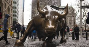 The current bull market could run for another two and a half years, according to JP Morgan. Photograph: Robert Nickelsberg/Getty Images