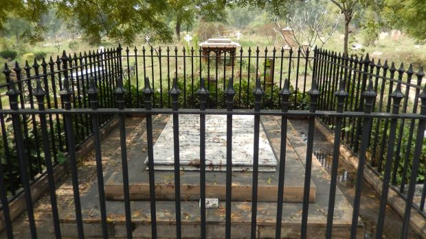 John Nicholson was buried under a slab of plain granite in a cemetery that now bears his name in Delhi.