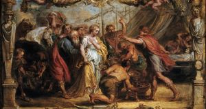 What war does to women: Briseis Given Back to Achilles by Peter Paul Rubens. Photograph: by Barney Burstein/ Corbis/VCG via Getty Images