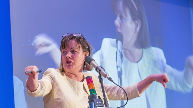 Sheila Nunan, general secretary of the INTO, is to step down next year.