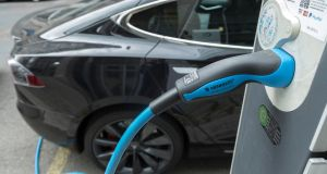Confirmation that Government departments have installed just six electric vehicle (EV) chargers to be shared by their 35,000 staff is indication of lack of leadership and a failure to act on its own policies. Photograph: Alexander Vecher/EPA