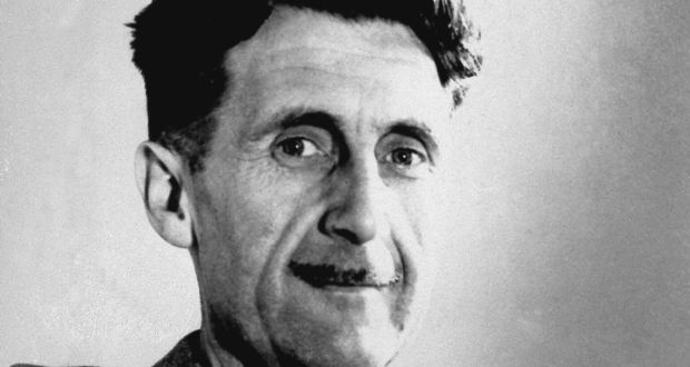 """George Orwell, in 1944, wrote that """"almost nobody seems to feel that an opponent deserves a fair hearing or that the objective truth matters so long as you can score a neat debating point"""". Photograph: AP"""