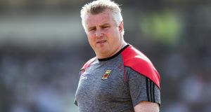 Stephen Rochford has resigned as Mayo manager after three years in charge. Photo: James Crombie/Inpho
