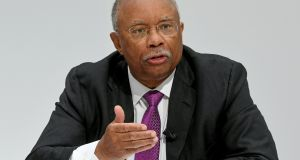 US-appointed supervisor at car maker Volkswagen Larry Thompson:  firm  has only just begun to take steps necessary to prevent future scandals. Photograph:  Holger Hollemann