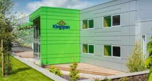 Kingspan said sales rose 15 per cent in the first half to top €2 billion for the first time