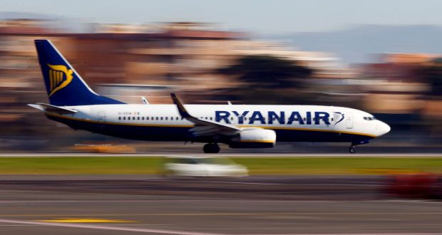 Ryanair italian pilot union approves labour agreement a ryanair aircraft lands at ciampino airport in rome photograph tony gentilereuters fandeluxe Images
